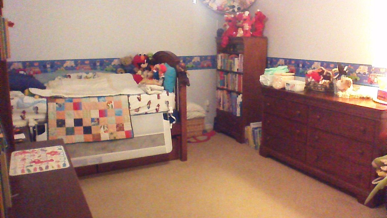 J.P.'s room