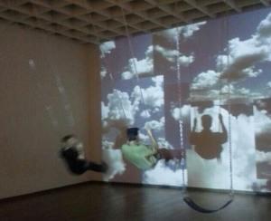 Swingin' at the museum