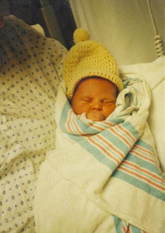 J.P. after birth