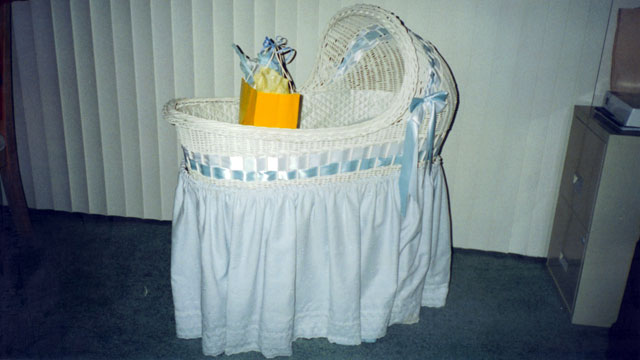 J.P.'s bassinet