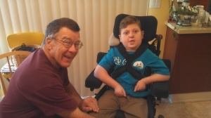 J.P. and Uncle Freddie